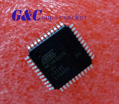 5PCS ATMEGA32U4-AU ATMEGA32U4 IC MCU 8BIT 32KB FLASH 44TQFP NEW GOOD QUALITY Q2