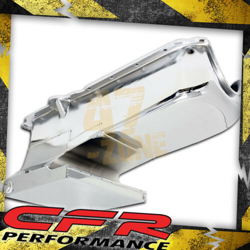 Chrome 1962-67 Chevy Ii Nova 1986-02 Small Block 283-400 Drag Racing Oil Pan
