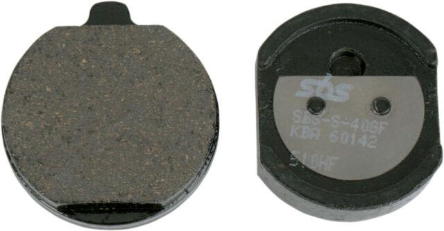 SBS Dual Carbono Orgánico Frente o Posterior Moto Pastillas de Freno 510HF