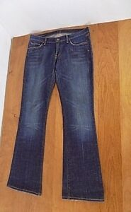 Citizens-of-Humanity-Women-Distressed-Jeans-Boot-Cut-Size-29-32-Kelly-001