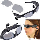 Bluetooth Wireless Flip-up Sunglasses Stereo Music Headphone for Phone/Tablet PC