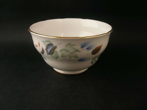 1 of 1 - Colclough Vintage Bone China Sugar Bowl 8162 Linden Foliage Leaf England c1960s