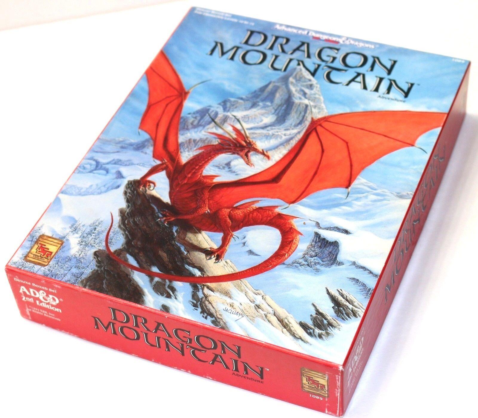 ADVANCED DUNGEONS & DRAGONS SET 2ND EDITION DRAGON MOUNTAIN ADVENTURE TSR-1089