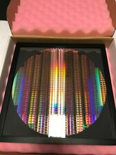 Silicon Wafer 12 Copper Pattern Reclaim300mm In 13x13 Frame