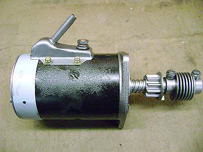 Original 1932-1953 Ford Flathead Starter Restored 12 Volt MINT Ford Script