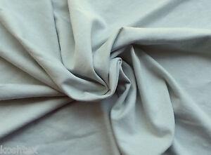 Sage Cotton Jersey Knit Fabric By The Yard FIRE RETARDANT