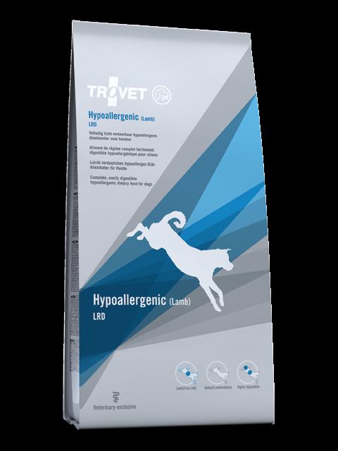 Trovet Agnello Ipoallergenici Dieta  Lrd  Canino 3kg Cane Digeribile Dietetico