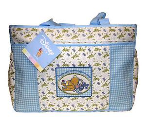 Classic-Winnie-the-Pooh-Disney-Honey-Pots-Baby-Large-Tote-Diaper-Bag-NEW