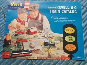 REVELL-H-O-TRAIN-CATALOG-1959-60-Electric-Trains-Catalogue