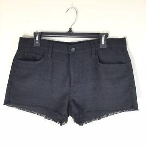 Pantaloncini nero Jeans di Joe's Nwot Off Sz Easy tweed bianco Cut 28 H6wq0wO