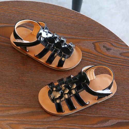 Kinder Mädchen Sandalen Kleinkind Sandaletten Zehensandalette Sommerschuhe