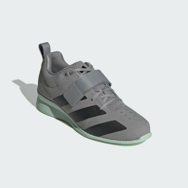 Size 8 - adidas adipower Weightlifting 2 Gray Green Tint