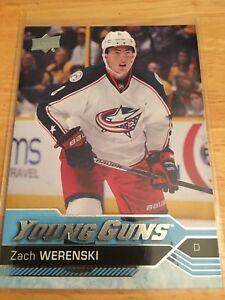 Zach-Werenski-2016-17-Upper-Deck-Rookie-Card-Young-Guns-Hockey-Card-Blue-Jackets