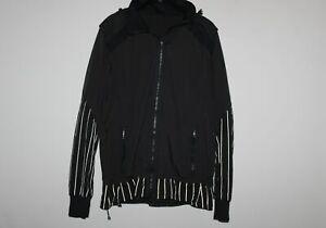 Lululemon Run: Bandit Jacket *Reflective Full Zip Jacket Black Size 12 H10085
