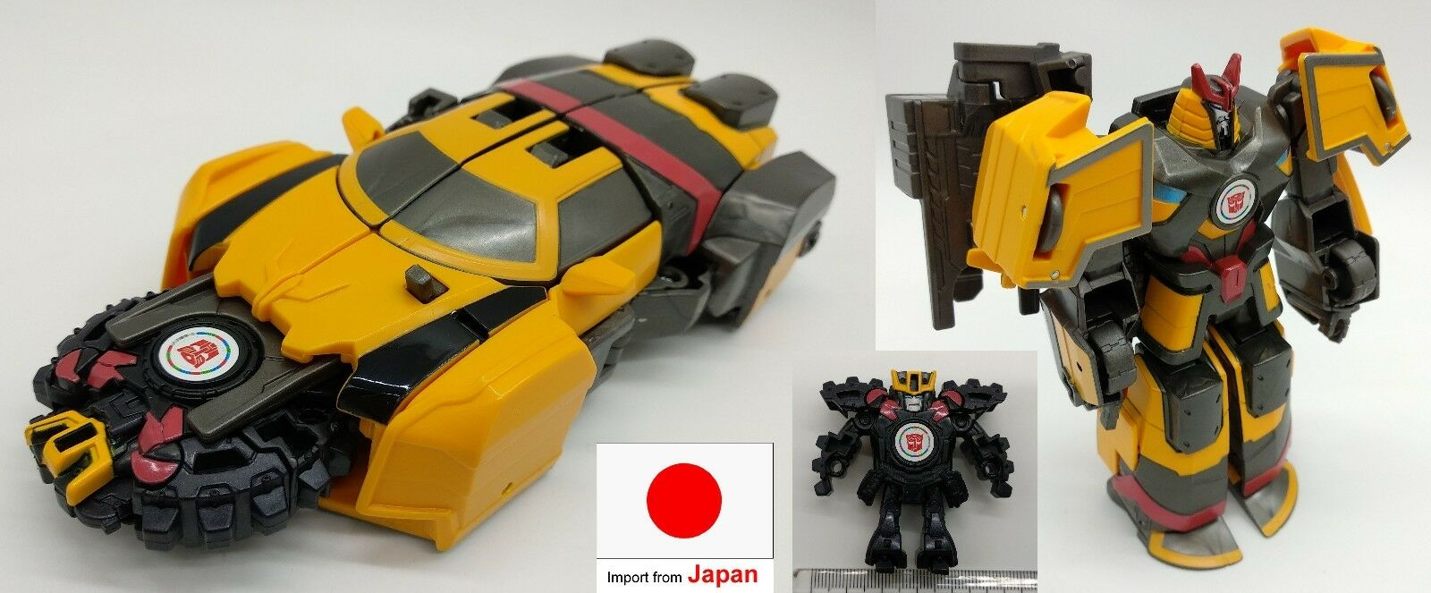 Japan import transformers toy robot Autobot MICRONSHOOTER DRIFT SET anime tw