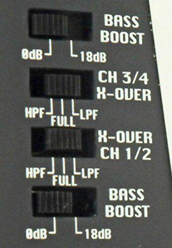 AMPLIFICATORE LANZAR VCT4110 VCT 4 CANALI 2000 WATT MAX A RIDOTTA PROFONDITA/'