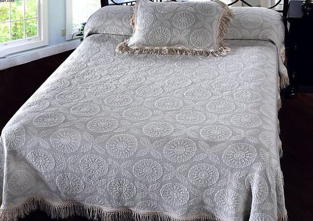 Washington Bates Bedspread Beds George and Martha by Maine Heritage Weavers