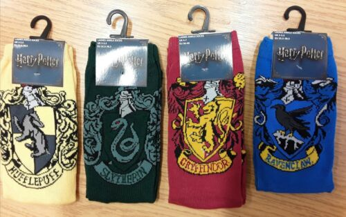 Larger Girls or Boys Socks with Harry Potter detail size 4-7 1  Pair Ladies