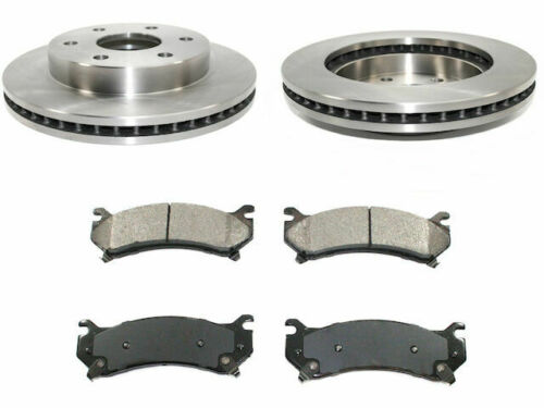 Front Brake Pad and Rotor Kit For 2000-2006 Chevy Tahoe 2001 2002 2003 J325BF