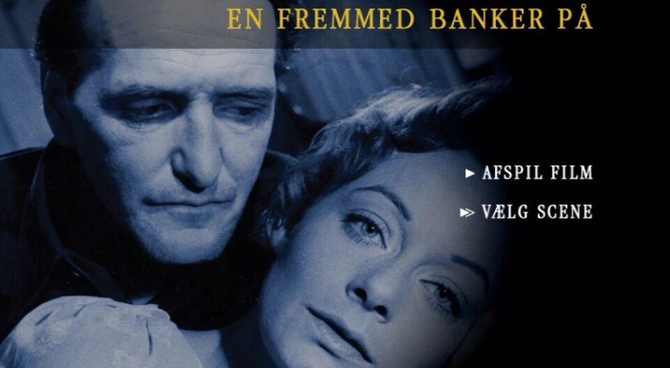 EN FREMMED BANKER PÅ - DANSK FILM, instruktør Johan