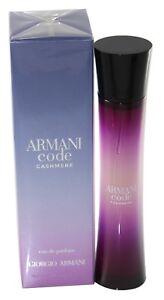halpa myytävänä huippusuunnittelu suorituskykyiset urheiluvaatteet Details about Armani Code Cashmere by Giorgio Armani Edp 2.5 oz / 75 Ml For  Women New