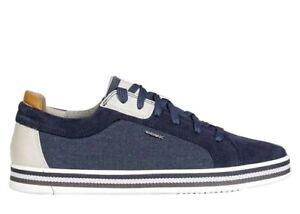 bufanda S t Ondular  Zapatos de Hombre GEOX Eolo U028RA Casual Deportivos Suela Zapatillas Verano  | eBay