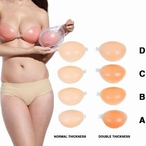 988d154fdf Sexy Invisible Push-Up Silicon Bra Strapless Self Adhesive Backless ...