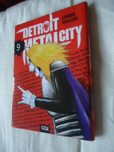 Detroit-Metal-City-Tomo-9-DMC-Manga-Eo-VF-Death-Kiss-Rock-Pop-Musica