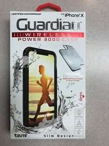 san francisco 8ef95 8b733 Details about Guardian iphone X Wireless power 3000 case