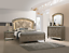 thumbnail 1 - NEW Modern LED Queen King 4PC Champagne Gold Bedroom Set Glam Furniture B/D/M/N