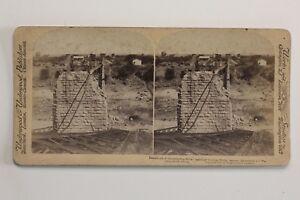 Guerre-Dei-Boeri-1899-1902-Africa-Del-Sud-UK-Foto-44-Stereo-Vintage-Albumina
