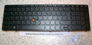 HP-Tastatur-Deutsch-German-keyboard-Elitebook-8560w-nr-652682-041-653695-041