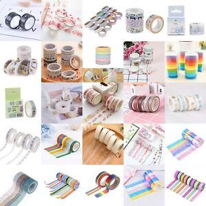 DIY-Ruban-Adhesif-Masking-Tape-Sticker-Papier-WashiScrapbooking-Enfant-Cadeau