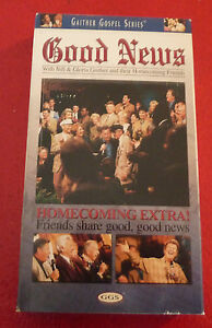 VHS-Movie-Good-News-With-Bill-amp-Gloria-Gaither-and-Their-Homecoming-Friends