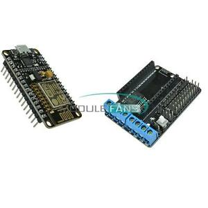 ESP8266 CP2102 Development Board /&L293D ESP-12E Wifi Motor Drive for Lua NodeMcu
