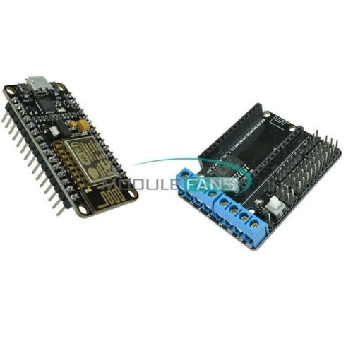 CP2102 ESP8266 /&L293D ESP-12E Wifi Motor Drive Development Board for NodeMcu