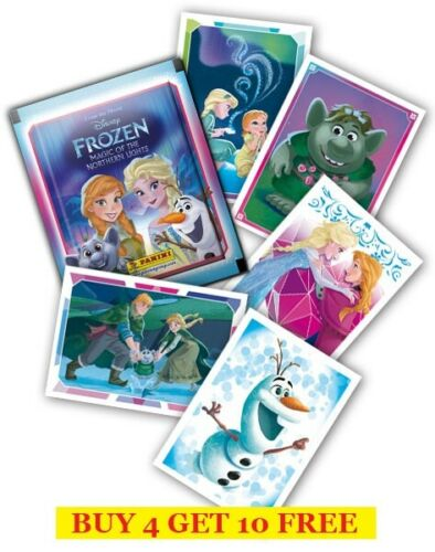 Panini Frozen Magic Of The Northern Lights Single Stickers Buy4Get 10 Free 2016