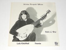 Lutz Kirchhof - Laute - Lute - Theorbe - LP - SILVIUS LEOPOLD WEISS -Suite C-Dur