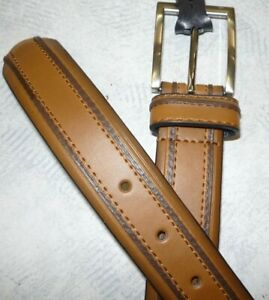 Men/'s Brown Dress Belt Style 1136 new Brown Pebble Florsheim Brown Men/'s Belt