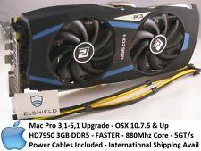 Apple Radeon HD7950 3GB GDDR5 PCS, for Mac Pro 3,1-5,1 Faster Than 5870, 4K