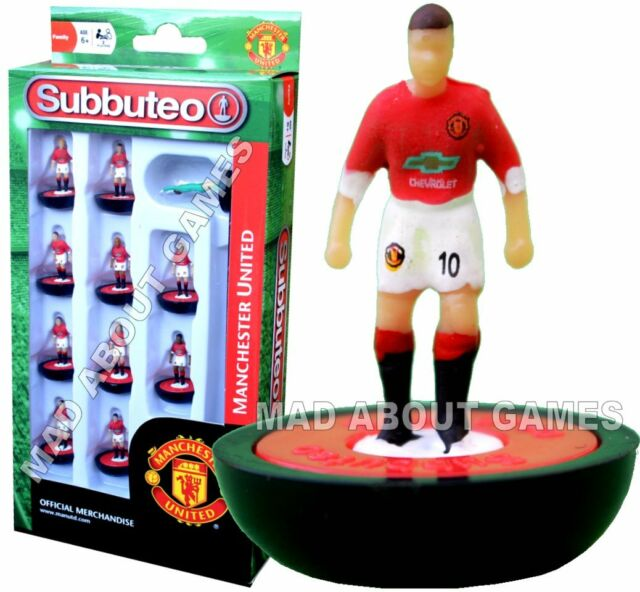 Official MANCHESTER UNITED FC Subbuteo NEW Team Football Soccer Paul Lamond