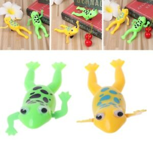 Details about New Wind up Swimming Cute Frog Toy Clockwork Stop Crying Baby  Kids Bath Toys