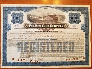10-000-New-York-Central-Railroad-Company-Bond-Stock-Certificate-NY