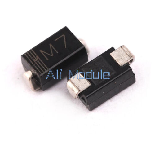 100PCS LL4007 M7 1N4007 DO-214 SMD 1A 1000V Rectifier Diodes NEW