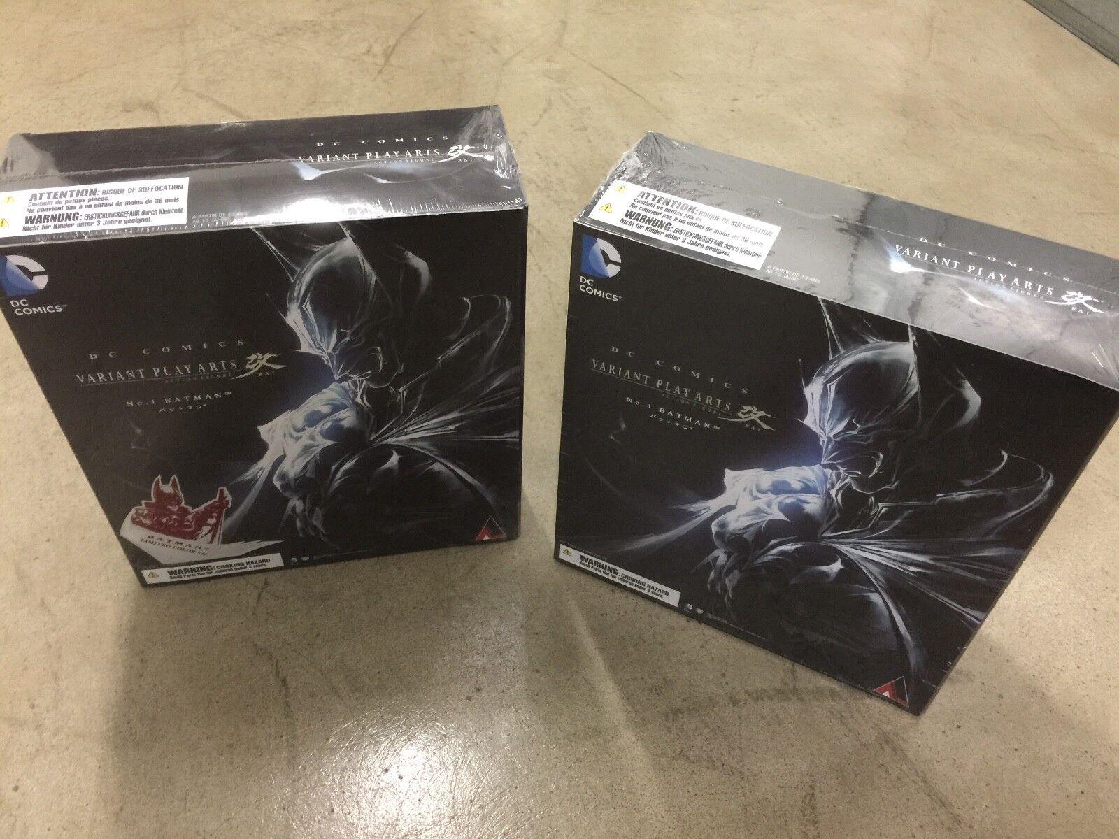 NEW Square Enix Play Arts Kai (Original) Variant DC Comics US Sale total 8Figure