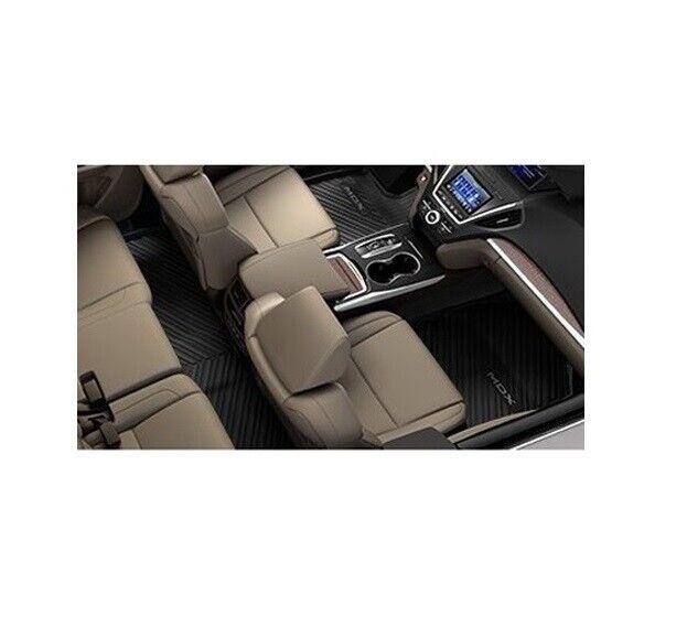 Genuine OEM Black All-Weather Floor Mats For Acura MDX