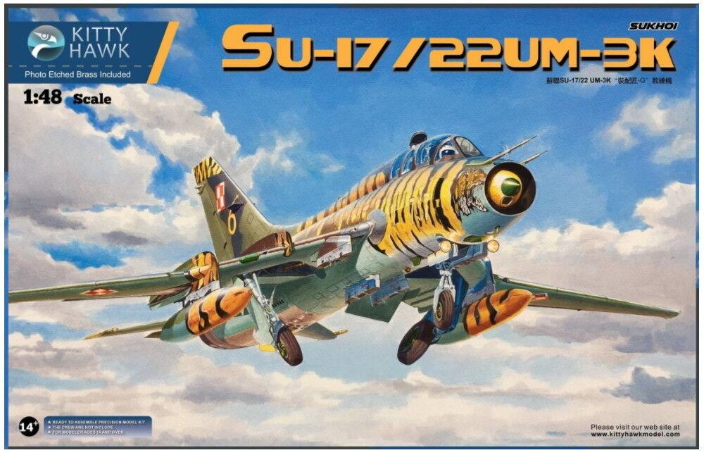 Kitty Hawk Models 1 48 Sukhoi Su-17 22 UM-3K (include multi-national decals)