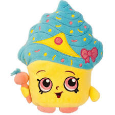 """Shopkins 7.5"""" CUPCAKE QUEEN Cup Cake Limited Edition Plush Xmas + Gift Kid"""