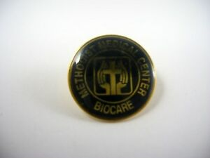 Details about Vintage Collectible Pin: Methodist Medical Center Biocare