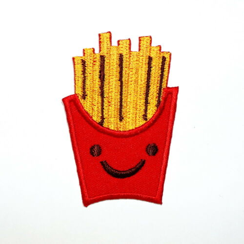 French Fries Fast Junk Food Cute Cartoon Clothes Jacket Shirt bag Iron on Patch